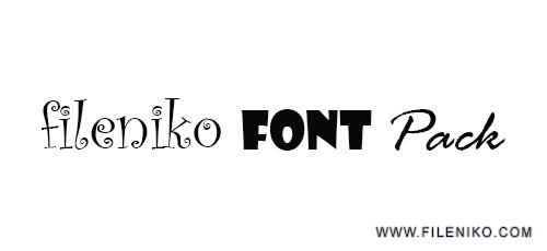 font 500x230 - دانلود SaiedSoft Font Collection 1.1  مجموعه بیش از ۸۰۰ فونت زیبا