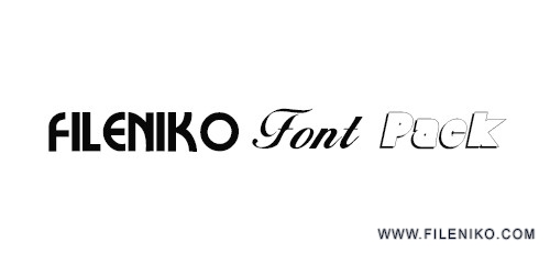 font pack 500x230 - دانلود SaiedSoft Font Collection 1.2  مجموعه ۵۰۰ فونت فارسی