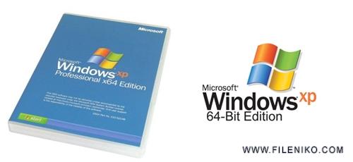 winxp x64 - دانلود Windows XP Professional x64 Edition SP2 February 2014