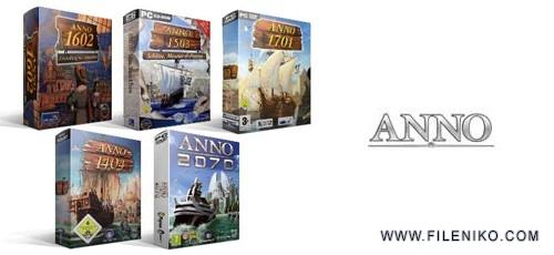 Anno Collection 500x230 - دانلود مجموعه بازی Anno برای PC