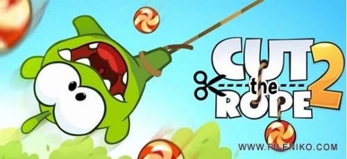 دانلود بازی Cut The Rope 2 v1.10.0 بازی زیبای Cut The Rope 2 برای اندروید + نسخه مود