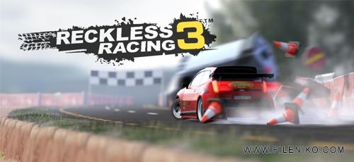 Reckless Racing 3 - دانلود Reckless Racing 3 v1.2.1  بازی ماشین سواری گرافیک اچ دی فوق العاده زیبای اندروید همراه دیتا + مود