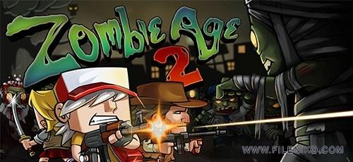 Zombie age 2 1 500x230 - دانلود بازی Zombie Age 2 v1.0.8 برای اندروید ::