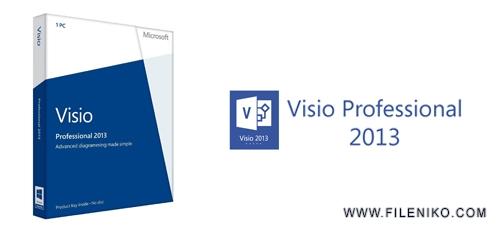 visio 2013 - دانلود Microsoft Visio Professional 2013 SP1 VL x86/x64 :: طراحی نمودار و چارت سازمانی ::