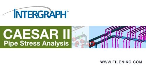 CAESAR - دانلود Intergraph CAESAR II 2018 v10.00.00.7700  نرم افزار تجزیه و تحلیل تنش در سیستم لوله کشی