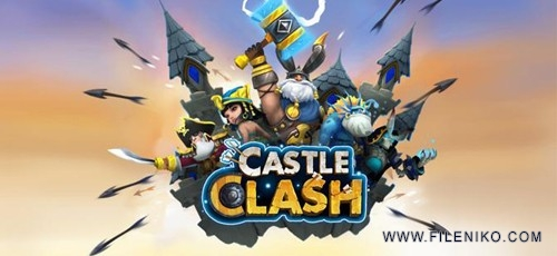 دانلود Castle Clash 1.6.7  بازی کستل کلش اندروید