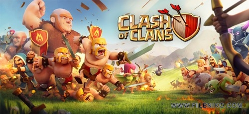 Clash of Clans1 500x230 - دانلود Clash of Clans 11.49.4 Build 1031 بازی آنلاین جنگ قبیله ها اندروید
