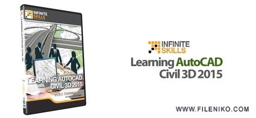 Learning AutoCAD Civil 3D 2015 500x230 - دانلود Infinite Skills Learning AutoCAD Civil 3D 2015  آموزش اتوکد سیویل تری دی 2015