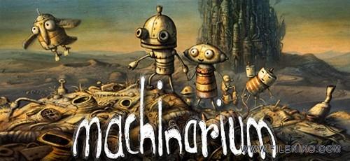 دانلود Machinarium 2.5.6  بازی فکری و معمایی اندروید + دیتا