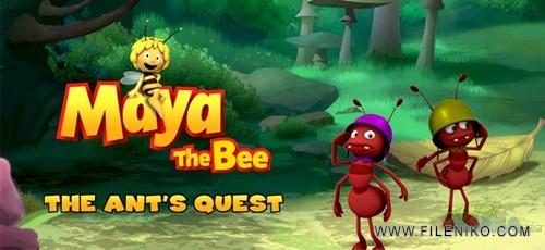 Maya the bee 500x230 - دانلود Maya the bee: The Ant's Quest v1.1 بازی مایا زنبور عسل برای اندروید