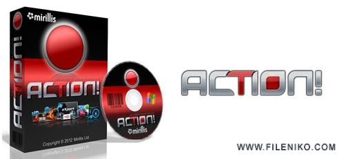 Mirillis Action - دانلود Mirillis Action 3.5.5  فیلمبرداری از محیط بازی