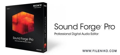 SONY Sound Forge Pro 500x230 - دانلود SONY Sound Forge Pro 13.0 Build 100  ویرایش فایل صوتی