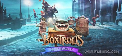 The Boxtrolls Slide N Sneak - دانلود بازی The Boxtrolls: Slide 'N' Sneak برای اندروید به همراه دیتا