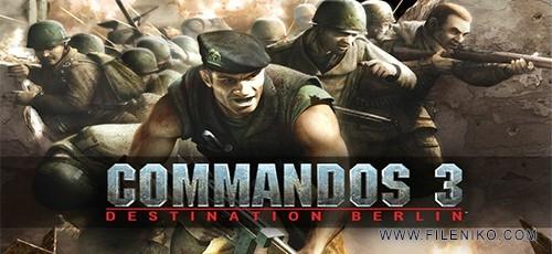 دانلود Commandos 3: Destination Berlin برای PC (نسخه فارسی)