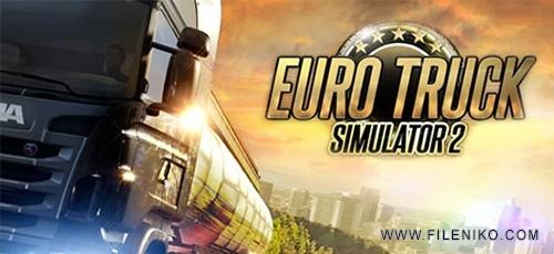 دانلود بازی Euro Truck Simulator 2 v.1.32.3s برای PC