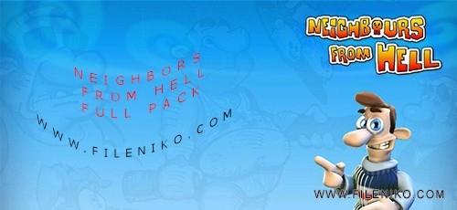 hamsaye 500x230 - دانلود پکیج سری بازی های محبوب همسایه جهنمی Neighbors From Hell Pack