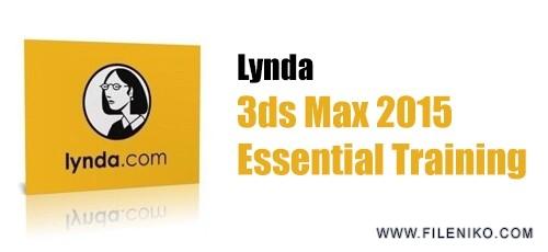 lynda 3dsmax 500x230 - دانلود Lynda 3ds Max 2015 Essential Training دوره آموزش تریدیاسمکس 2015