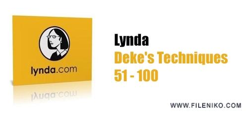 lynda dek 51 100 - دانلود Deke's Techniques  تکنیک های فتوشاپ و ایلاستریتور، فیلم های آموزشی 51 تا 100 همراه با زیرنویس انگلیسی