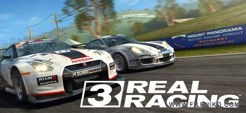 real racing 500x230 - دانلود Real Racing 3 v.5.4.0  بازی اتومبلیرانی ریل رسینگ 3 اندروید + مود