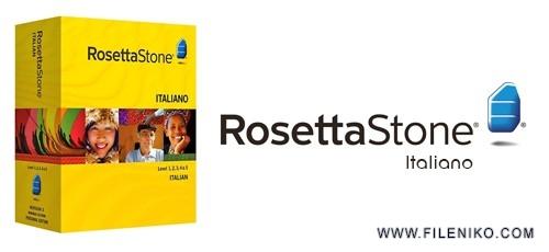 rosetta stone Italian 500x230 - دانلود Rosetta Stone Italian v3 Level 1-5  آموزش زبان ایتالیایی