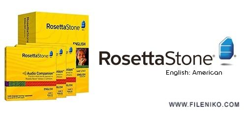 rosetta stone ame 500x230 - دانلود Rosetta Stone English:American v3 Level 1-5  آموزش زبان انگلیسی لهجه آمریکایی