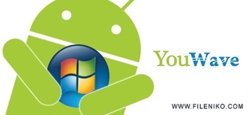 youwave 500x230 - دانلود YouWave for Android Premium 5.11  اجرای برنامه های اندروید در کامپیوتر