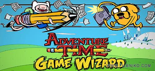 Adventure Time Game Wizard 1 500x230 - دانلود بازی Adventure Time Game Wizard برای اندروید به همراه دیتا