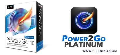 CyberLink Power2Go Platinum 500x230 - دانلود CyberLink Power2Go Platinum 12.0.1508.0 + Content Pack رایت انواع دیسک