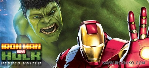 Iron Man Hulk Heroes United 500x230 - دانلود انیمیشن Iron Man and Hulk: Heroes United مرد آهنین و هالک: اتحاد قهرمانان با زیرنویس فارسی