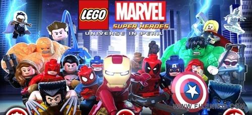 دانلود LEGO Marvel Super Heroes 1.06 بازی قهرمانان مارول اندروید به همراه دیتا