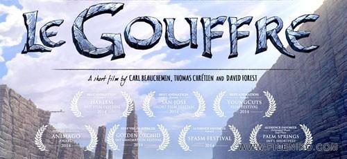 Le gouffre 500x230 - دانلود Le gouffre انیمیشن کوتاه پرتگاه  برنده ۷ جایزه از جشنوارههای معتبر بینالمللی
