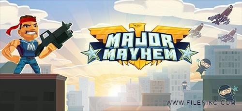 Major Mayhem 4 500x230 - دانلود بازی Major Mayhem 1.1.3 برای اندروید به همراه نسخه مود شده