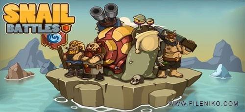Snail Battles 1 500x230 - دانلود بازی Snail Battles برای اندروید