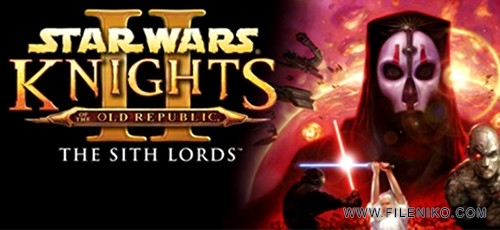 Star Wars Knights of the Old Republic II 500x230 - دانلود Star Wars Knights of the Old Republic II  The Sith Lords برای PC