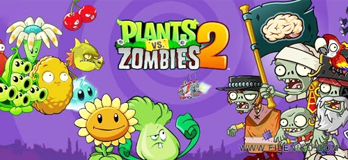 بازی plants vs zombies مود شده