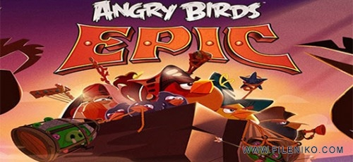 angry birds epic android game 600x3351 500x230 - دانلود Angry Birds Epic v2.5.26974.4598 بازی پرندگان خشمگین اندروید به همراه دیتا + نسخه مود