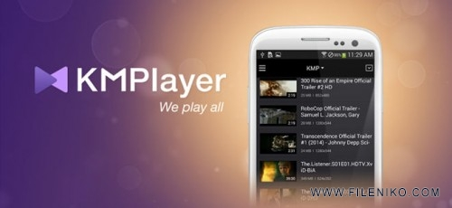 kmplayer for android 500x230 - دانلود KMPlayer  آخرین ورژن پخش کننده قدرتمند کی ام پلیر برای اندروید