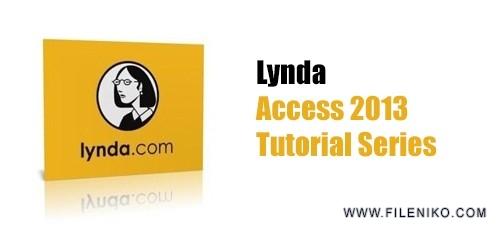 lynda access 500x230 - دانلود Lynda Access 2013 Tutorial Series  دوره های آموزشی اکسس 2013