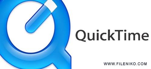 quick time 500x230 - دانلود QuickTime Pro 7.7.8 پخش مالتی مدیا