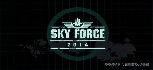 skyforce 1 500x230 - دانلود بازی Skyforce  برای اندروید به همراه دیتا