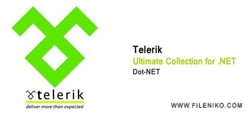 telerik 500x230 - دانلود Telerik Ultimate Collection for .NET 2019 R1 Retail کامپوننت های تلریک