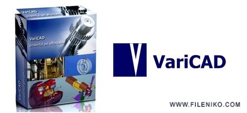 varicad 500x230 - دانلود VariCAD 2019 v2.03 طراحی آسان قطعات صنعتی