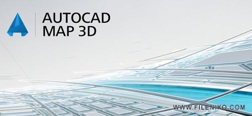 Autodesk AutoCAD Map 3D 500x230 - دانلود Autodesk AutoCAD Map 3D 2020 طراحی و مدیریت پروژه ساختمانی