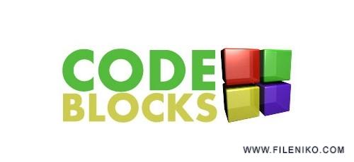 Code Blocks 500x230 - دانلود Code::Blocks 20.03 نرم افزار کد بلاکز برای برنامه نویسی ++C/C