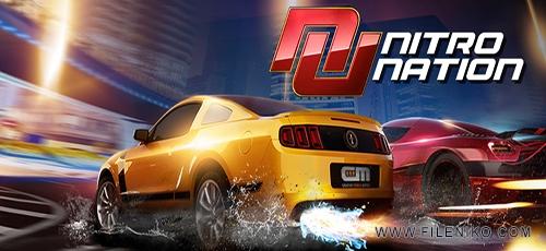 دانلود Nitro Nation Racing 5.4.5 بازی مهیج ماشین سواری اندروید به همراه دیتا