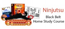 Ninjutsu Black Belt Home Study Course 222x100 - دانلود Ninjutsu Ninja Black Belt Course NEW 2014 Complete With Manual دانلود ویدیوهای آموزشی نینجوتسو