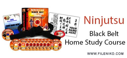 Ninjutsu Black Belt Home Study Course - دانلود Ninjutsu Ninja Black Belt Course NEW 2014 Complete With Manual دانلود ویدیوهای آموزشی نینجوتسو