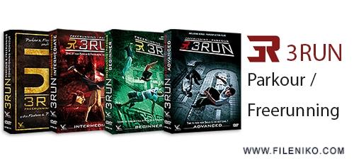 Parkour Freerunning - دانلود 3RUN Parkour/Freerunning مجموعه فیلم های آموزش پارکور از مبتدی تا پیشرفته