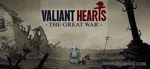 Valiant HeartsThe Great 500x230 - دانلود بازی Valiant Hearts The Great War برای PC