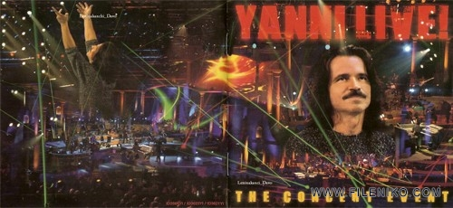 Yanni – Live The Concert Event 2006 500x230 - دانلود یکی از بهترین کنسرت های تاریخ موسیقی در لاس وگاس از نوازنده و آهنگساز مشهور یونانی Yanni